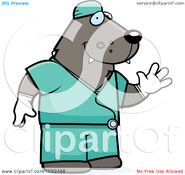 Clipart-Wolf-Surgeon-Doctor-In-Scrubs-Royalty-Free-Vector-Illustration-10241082488