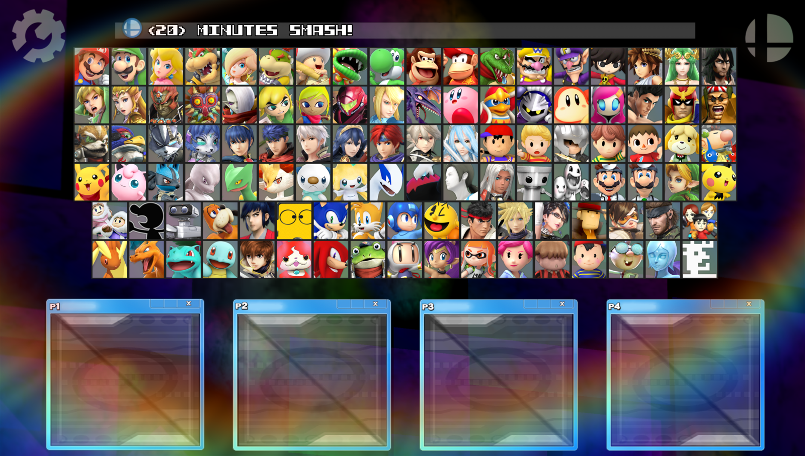 image super smash bros nx roster update v8 with dlcs by