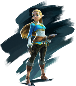 BotW Zelda Artwork
