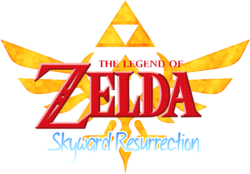 Legend of Zelda Skyward Resurrection Logo