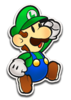 Paper Luigi Color Slash