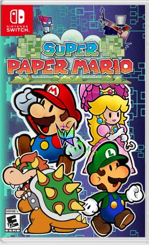 super paper mario 20th anniversary edition fantendo nintendo