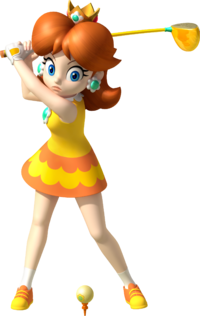 Daisy Artwork - Mario Golf World Tour