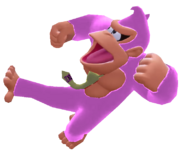 Donkey Kong II Kicking