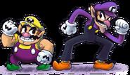 Mario luigi rpg style wario waluigi by master rainbow-da55k3t