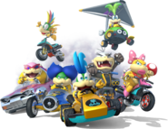 620px-Koopalings Artwork - Mario Kart 8 Without Background