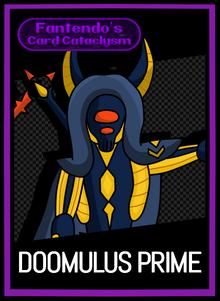 FCC Doomulus Prime Card