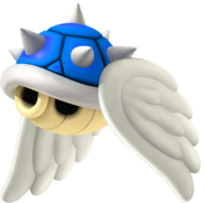 Flying Blue Shell - Mario Kart Wii