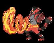 IncineroarAttack