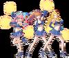 Ouendan Cheerleaders