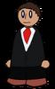 Shirt Black Suit Generic
