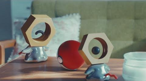 New Discovery Rare Footage of Meltan in the Wild!
