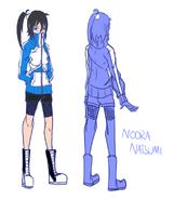 Noora Natsumi character sheet 1