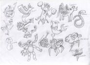 Pokémon Drawings 1