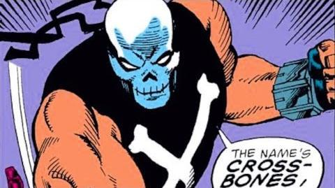 Supervillain Origins Crossbones