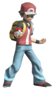 0.1.Pokemon Trainer Red Standing
