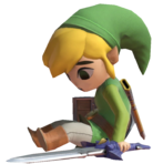 1.10.Toon Link sitting Down
