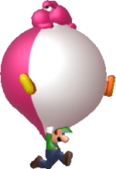 Balloon Yoshi Luigi