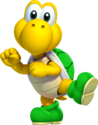 Green Dancing Koopa Troopa