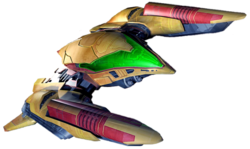 Samus Gunship (Smash Galaxy)