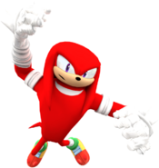 Sonic boom new knuckles render