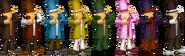 SSBRiot Layton Color Palettes