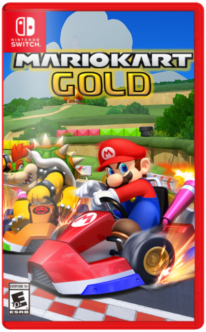 Mario Kart- Gold Boxart