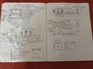 Nintendo HyperSpace Notebook Designs