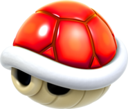 Red Shell Artwork - Super Mario 3D World