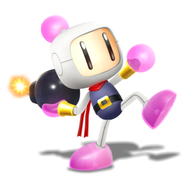 Smashified style bomberman render of 4 4 by nibroc rock-d95pvn5
