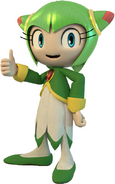 Sonic and friends cosmo the seedrian