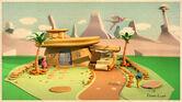 The Flintstones House by fabriciocampos