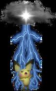 2.10.Pichu using Thunder