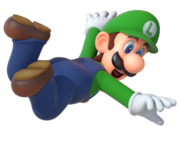 Luigi artwork (Mario Party 10) finished