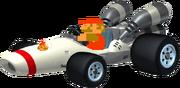 Mario Kart 7 8-bit Mario