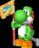 Yoshi Artwork - Mario Golf World Tour