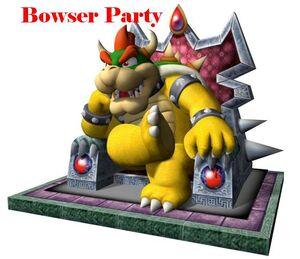 Bowser Party
