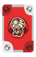 Captain Toad Partner Card