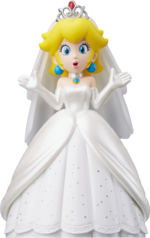 Mario Odyssey Wedding Peach separate