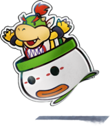 Paper Bowser Jr. - ML Paper Jam