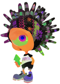 Splatoon 2 Murch Artwork Transparent