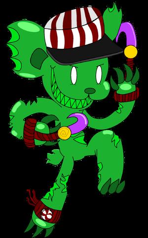 Gumm-Slash (Kandy Shop) by WereWaffle