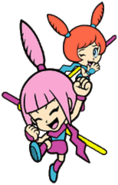 Kat and Ana WarioWare Mega Party Games