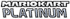 Mario kart platinum logo