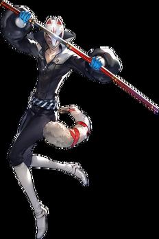 P5 Yusuke Kitagawa, Phantom Thief