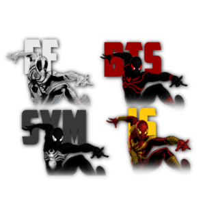 Spiderman palette