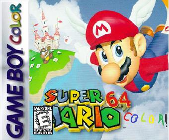 Super Mario 64 Color 1999 Game Boy Color Port Fantendo