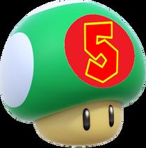 5-Up Mushroom