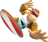 Funky Kong Surfboard - Donkey Kong Country Tropical Feeeze