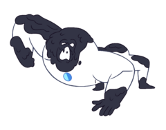 Invisible Monster PNG